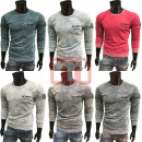 Mens Business Leisure sweater Long Sleeve Shirts