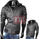 ingrosso Cappotti e giacche: giacche di pelle  da uomo Primavera Autunno shell