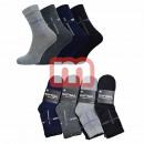 Großhandel Strümpfe & Socken: Herren Sneakersocken Baumwolle Gr. 40-46