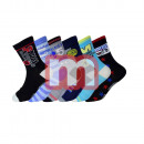 Kinder Socken Baumwolle Mix Gr. 24-39
