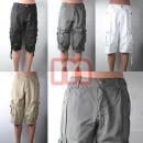 ingrosso Shorts: Unisex Cargo  Capris Shorts Gr Mix. 30-40