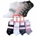 Großhandel Strümpfe & Socken: Damen Sneakersocken Baumwolle Gr. 35-40