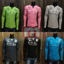 Großhandel Shirts & Tops: Herren Motiv Shirts Oberteile Men Shirt Langarm