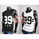Summer Sports Leisure shoulder muscle shirts