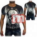 Großhandel Shirts & Tops: Herren Freizeit T-Shirt Oberteil Gr. S-3XL