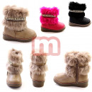 Children autumn winter fur boots Boots Gr. 20-25