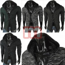 wholesale Coats & Jackets: Men's Knitted Jackets long sleeve shell