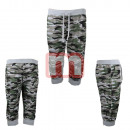 Unisex Leisure Trousers Army Look Gr. M-XXL