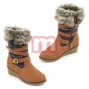 mayorista Ropa / Zapatos y Accesorios: Chica de piel  botas de los  zapatos Zapatos de ...
