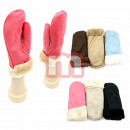 Women's Winter Gloves Mittens suede