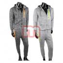 Großhandel Sportbekleidung: Unisex Jogging Freizeit Trainings 2-tlg. Set