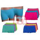 Großhandel Dessous & Unterwäsche: Mädchen Seamless Boxer Shorts Slips Mix Gr. 10-12