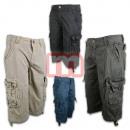 wholesale Trousers: Men Summer Capri Cargo Pants Leisure