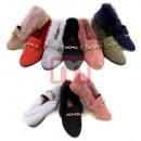 Großhandel Schuhe: Damen Slipper Halbschuhe Ballerina