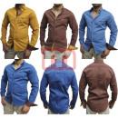 Großhandel Hemden & Blusen: Herren Freizeit Business Hemden Langarm