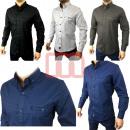 Großhandel Hemden & Blusen: Herren Freizeit Business Hemden Gr. S-3XL je 11,50