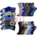 Großhandel Strümpfe & Socken: Jungen Socken Strümpfe Mix Gr. 32-39 je 0,29 EUR