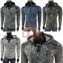 Men's hoodies long sleeve shell Shirts