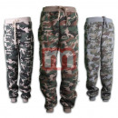 wholesale Trousers: Unisex free time  pants army look Gr. S-XXL