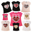 wholesale Childrens & Baby Clothing: Girl Shirts Short Sleeve Tops Tops