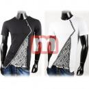 Großhandel Shirts & Tops: Herren Freizeit T-Shirt Oberteil Gr. S-XL
