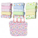 wholesale White Goods: Baby Toddler  washing cloth 10 x 10 cm coton