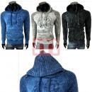 Großhandel Pullover & Sweatshirts: Herren Pullover Langarm Oberteil Hoodie