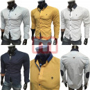 Großhandel Hemden & Blusen: Herren Freizeit Business Hemden Langarm Oberteile