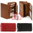 Ladies leather purses wallets Mix