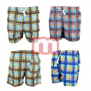 wholesale Swimwear: Men's Badges Shorts Swimwear Gr. S-XXL