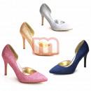 wholesale Shoes: Pumps High Heels  Shoes Glitter optic Gr. 36-41