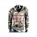 wholesale Pullover & Sweatshirts: Men's long  sleeve shell  zipper hoodie Gr. ...