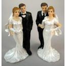 ,Hochzeitspaar/Poly 11,5 cm
