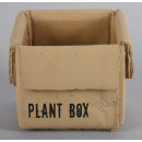 Plant pot -  cardboard Look / concrete