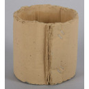 Plant pot -  cardboard Look / concrete