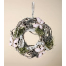 Vine wreath with  butterfly, size 36 cm