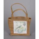 Bag / jute, size 19 / 30x19x4 cm
