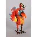 Vogel aus Metall, Größe 30 cm