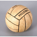 Moneybox  Volleyball ceramic, size 15 cm
