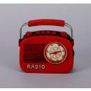 Radio, size 13x13 cm