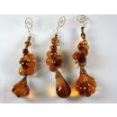 Drops / beads pendant, 17 cm