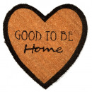 grossiste Tapis & Sols: PAILLASSON COEUR  GOOD TO BE HOME