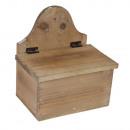 wholesale Organisers & Storage:BOX WITH LID WOOD