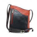 Echte Ledertasche, Damentasche, Umhängetasche