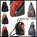 groothandel Rugzakken: Ladies Classic  Elegant Rugzak 100% Leer