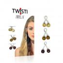 JwelU Twisti - Mix  Światło Karmel rudych