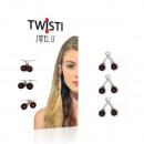 wholesale Hair Accessories: JwelU Twisti - Natural Russet
