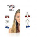 JwelU Twisti - Mix Red White Blue