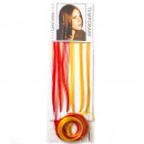 wholesale Hair Accessories: Jwel You Hair  Extensions -  Yellow / Orange - ...
