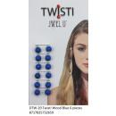 wholesale Hair Accessories:JwelU Twisti - Blue